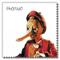 Stamp from Deutsche Post AG from 2001, Pinocchio Source Wiki Commons
