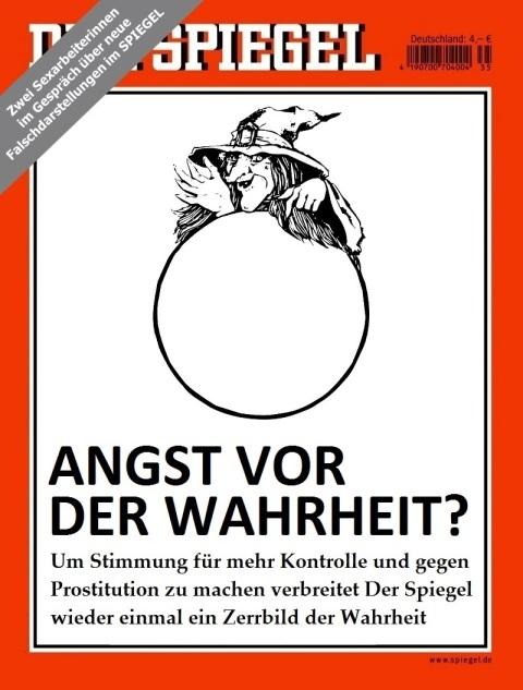 Der Spiegel 14.2015 Mock Cover - Image by Matthias Lehmann