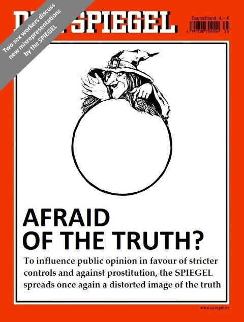 Der Spiegel 14.2015 Mock Cover English - Image by Matthias Lehmann