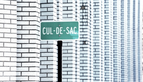 Cul-de-sac -- Photo by StockSnap CC0 Public Domain